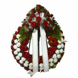 Corona funeraria C - Floristería Núñez