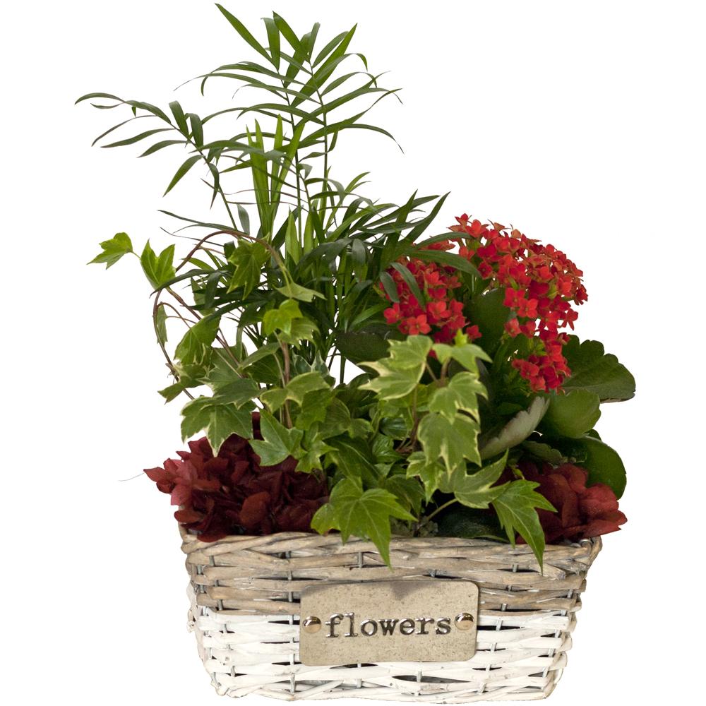 Cestos Decorados Con Flores