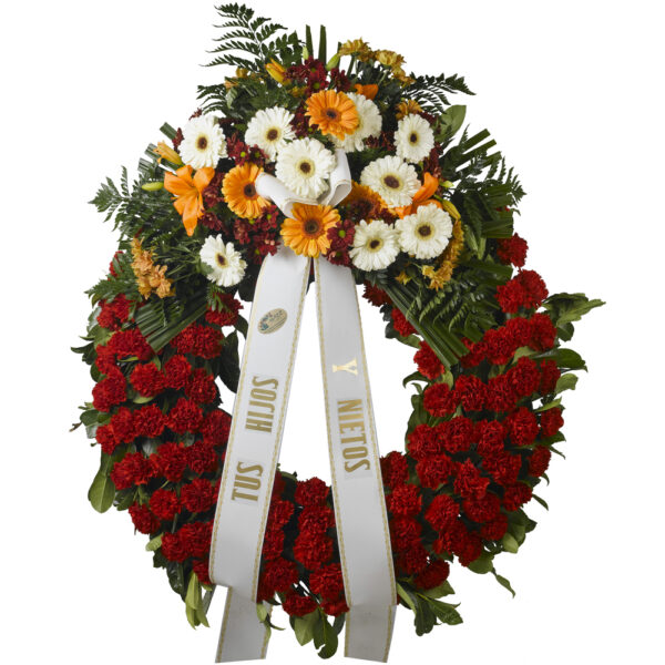 Corona funeraria A