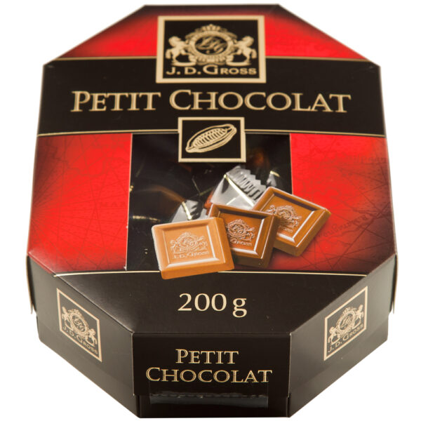 Caja de bombones de Petit cholotat