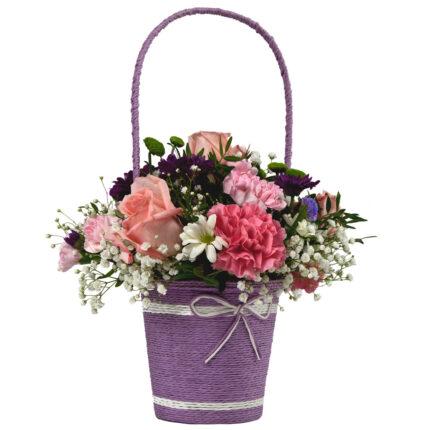 cesta de flor
