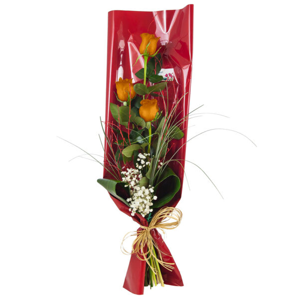 Ramo-de-3-rosas-naranjas